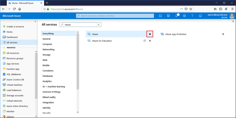 M365 Environment 06 – Intune Enrollment for Domain Joined